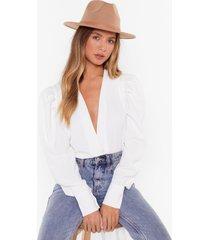 womens hats off to ya woven fedora hat - camel