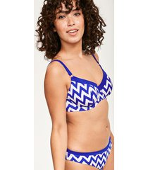 making waves sweetheart bikini top