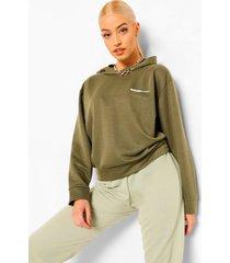 woman oversized hoodie, khaki