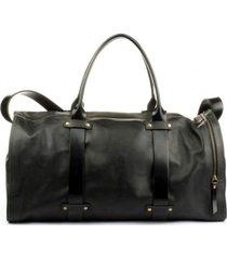 bolso de viaje cuero wiken negro bestias