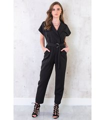 pocket jumpsuit zwart