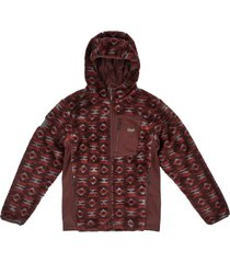 chaqueta cross nano-f shaggy jacket print café lippi