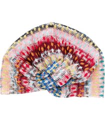 missoni mare abstract print head scarf - pink