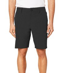men's o'neill reserve heather hybrid water resistant swim shorts, size 44 - black