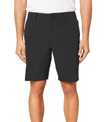 men's o'neill reserve heather hybrid water resistant swim shorts, size 40 - black