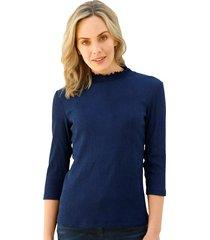 shirt amy vermont blauw