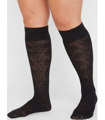 lace trouser socks