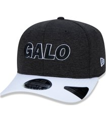boné new era 9fifty stretch sn atletico mineiro preto