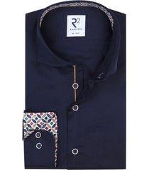 donkerblauw overhemd sleeve 7 r2