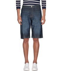 bell bottom denim bermudas