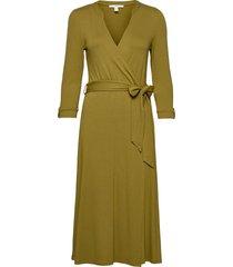 dresses knitted maxi dress galajurk groen esprit casual