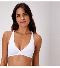 suti㣠joge top bojo branco - branco - feminino - dafiti