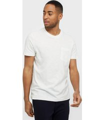 selected homme slhjared slub ss o-neck tee w t-shirts & linnen offwhite