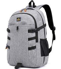 viaggio casuale oxford di grande capienza 18 pollici laptop borsa backpack for men women
