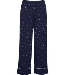 ankle flare pants in modal vida byxor blå gap