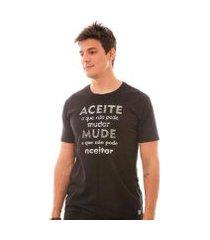 camiseta aceite o que não pode mudar ms4248 ágape masculina