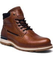 biadean boot snörade stövlar brun bianco