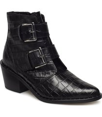 denny shoes boots ankle boots ankle boots with heel svart kurt geiger london