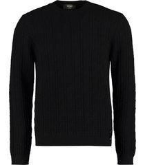 fendi long sleeve crew-neck sweater