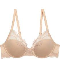 natori elusive full fit bra, women's, beige, size 34h natori