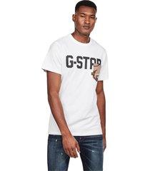 g-star d16385 b771 allover pkt t shirt and tank men white