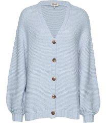charmaine stickad tröja cardigan blå baum und pferdgarten