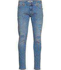 max of-1846 slimmade jeans blå just junkies