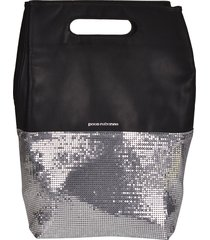 paco rabanne embellished tote