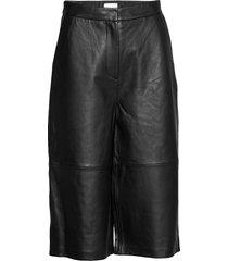2nd muda leather leggings/broek zwart 2ndday