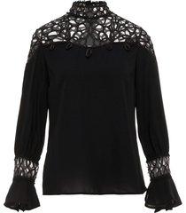 blouse zware kanten
