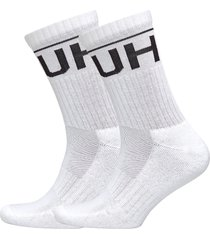 2p qs rib logo cc underwear socks regular socks vit hugo