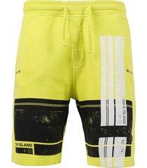fleece logo shorts,