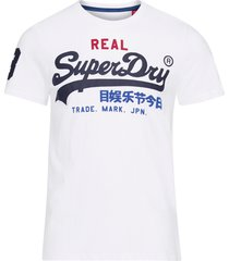 t-shirt vintage logo tri tee