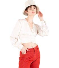 blusa alessia natural caro criado