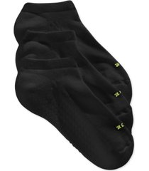 hue women's air cushion no show 3 pack socks