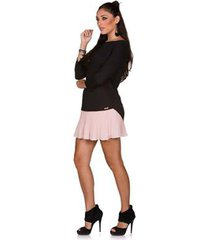blusa via costeira bata em viscose feminina