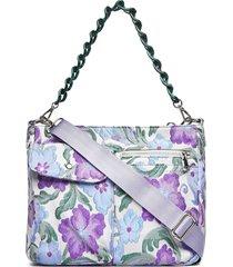 amble pocket garden bags top handle bags paars hvisk