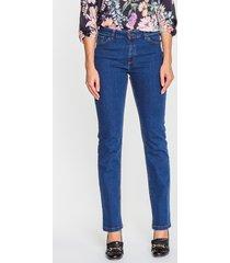 granatowe spodnie jeansowe