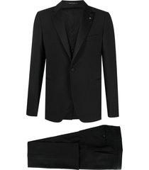 tagliatore fitted evening suit - black