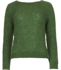 gebreide trui kiki  groen