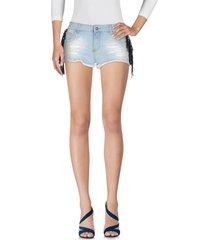 shop ★ art denim shorts