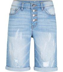 shorts di jeans elasticizzati (blu) - john baner jeanswear