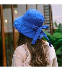 sombrero de sol de verano para mujer con arco sombrero ancho y ancho gorra