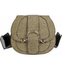 borbonese borbonese 110 small shoulder bag