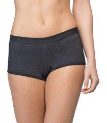 calcinha short personalizado preto - 581.022 marcyn lingerie boy short preto