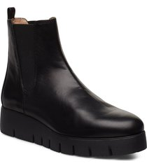frisa_na shoes boots ankle boots ankle boots flat heel svart unisa