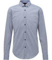 boss men's rikard 53 slim-fit shirt