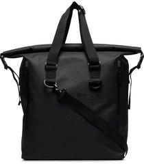 snow peak dry large tote bag - black