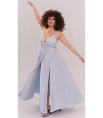 pale blue tilbury dress