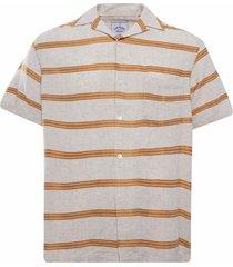 portuguese flannel san francisco shirt   gold   ss21035-gld